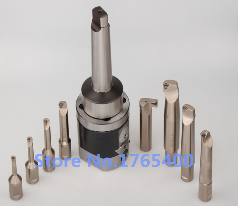 Precision NBH2084 8-280mm Boring Head System+MT3 M12 Holder+8pcs 20mm Boring Bar Boring rang 8-280mm Boring Tool Set precision nbh2084 8 280mm boring head system mt4 m16 holder 8pcs 20mm boring bar boring rang 8 280mm boring tool set