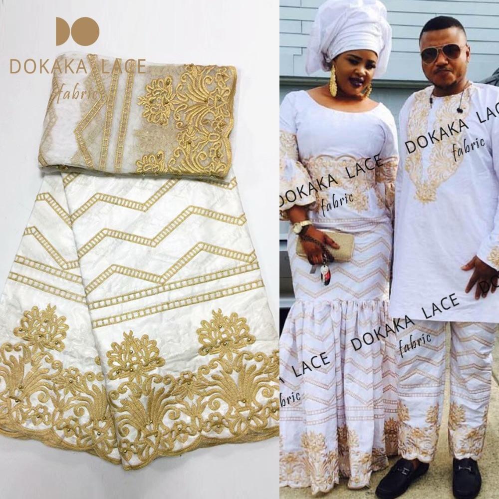 La Belleza gray pink yellow beige rhinestones pearls 3D flowers heavy handmade wedding dress lace fabric