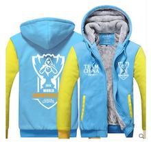 LOL Final Contest Cosplay Costume OMG Skin Hoodie Autumn winter Warm Coat Uniform High Quality Coat