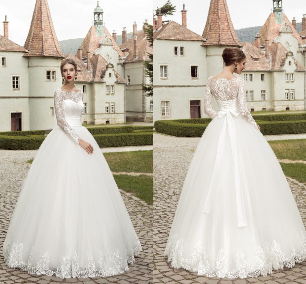 Cheap lace wedding dress 2017 made in china boat neck long for Cheap wedding dresses made in china
