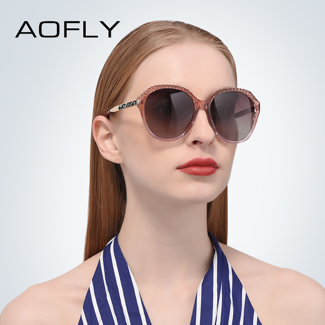 AOFLY BRAND DESIGN Polarized Sunglasses Women Gradient Sun Glasses For Women 2018 Fashion Glasses UV400 A133 1