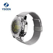 YSCEN EX28A Smartwatch Bluetooth relógio Inteligente 10 M À Prova D' Água Esportes Ao Ar Livre Passo Contagem Queimar Calorias para Android IOS iPhone