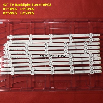 De retroiluminación LED BAR para LG TV de 42 pulgadas 42LN540V 42LN613V 42LA620V LC420DUE 42LN575S 42LA62 42LN578V 42LN575V 42LN5710 42LN540V