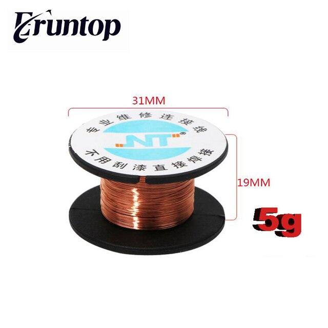 1PCS NT 0.1mm Copper Solder Soldering PPA Enamelled Reel Wire-in ...