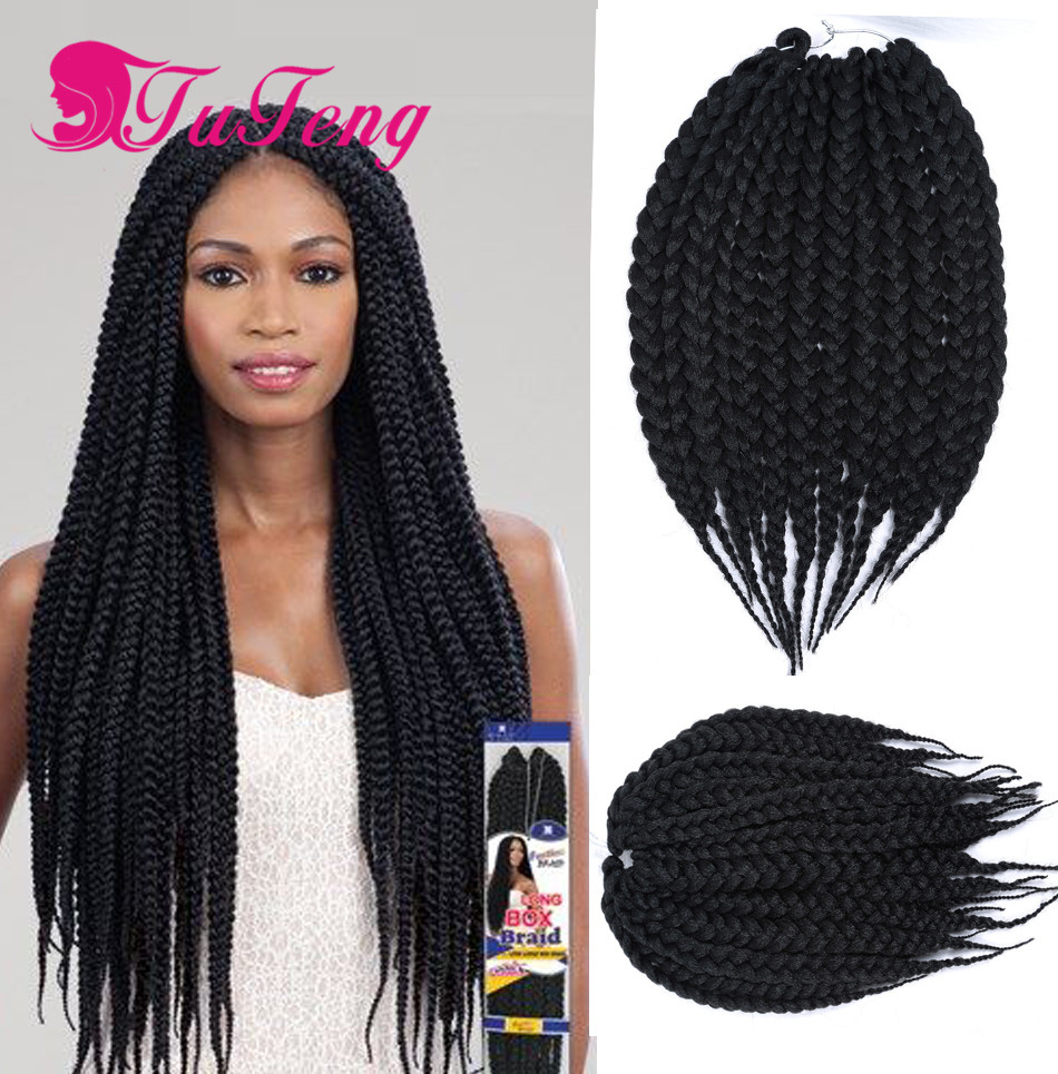 14 Inch Crochet Box Braids : Soft Braiding Hair For Box Braids - Braids
