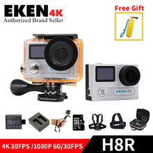 EKEN H8R Motion Digital camera VR360 Extremely 4K/30fps 1080P/60fps Twin LCD Mini Cam go Waterproof professional Sports activities DV with 2.4G distant management