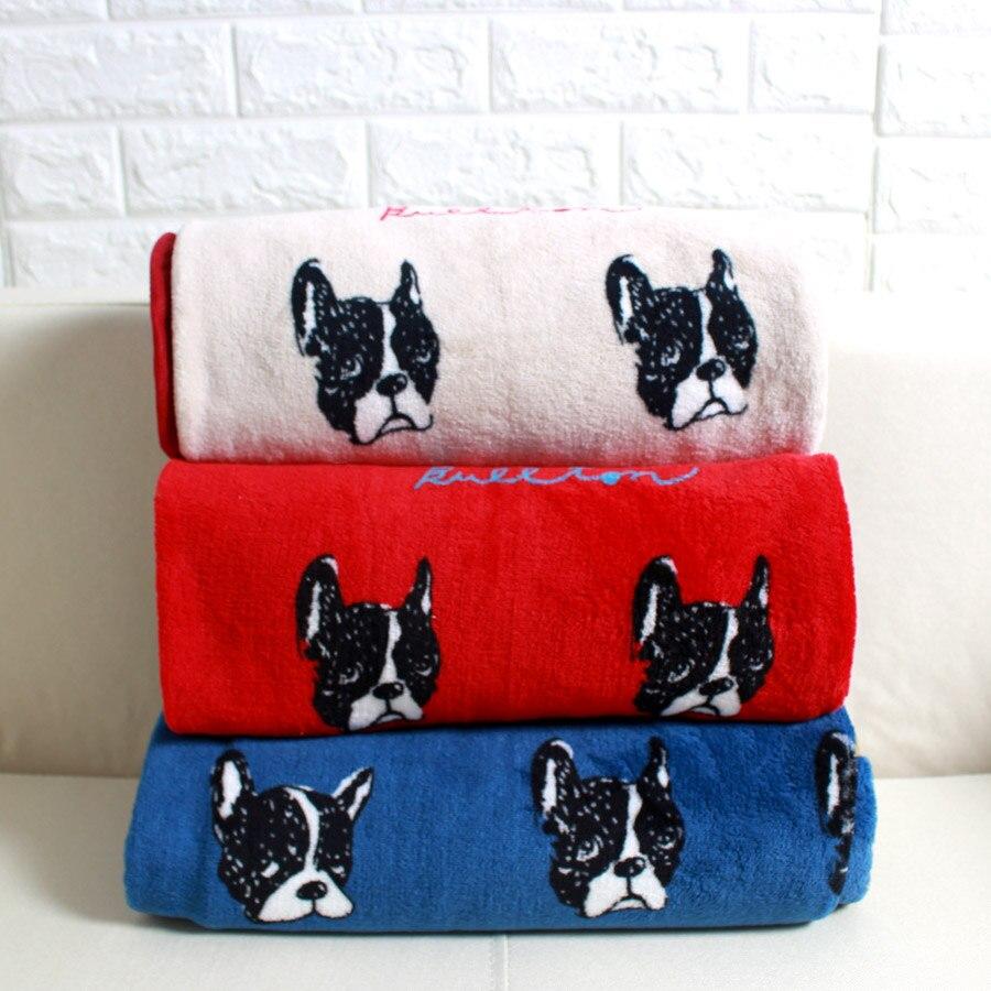 Cartoon flanella coperta multifunzionale necessario pisolino Coperta Trapunta pet gatti cani pug testa tiro coperta 100*75 cm