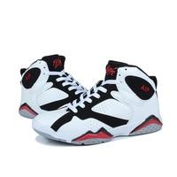 Jordan basketball shoes men's shoes summer new high top shoes men wear breathable sports shoes men's combat boots