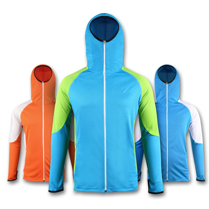 ФОТО Sun protection suit ultra-thin breathable clothing long-sleeved fishing clothing outdoor anti-mosquito