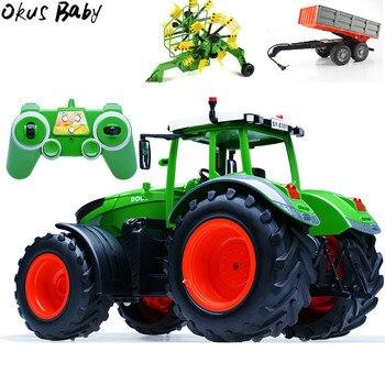 Remoto Vehículos Niños Remolque Modelo 4g Recolección Juguetes Tractor Ingeniería Ruedas 2 Rc De 4 Para Regalos Basura Camión Control wOkZuTXPi