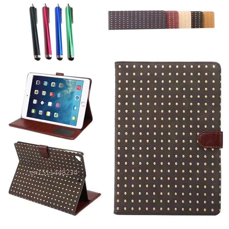 A1822 A1823 magnetic Smart Case Cover for Apple iPad New 9.7 2017 PU Leather Tablet Folio Wake/Sleep Cases For iPad 9.7 New 2017 apple smart cover mgtm2zm a black