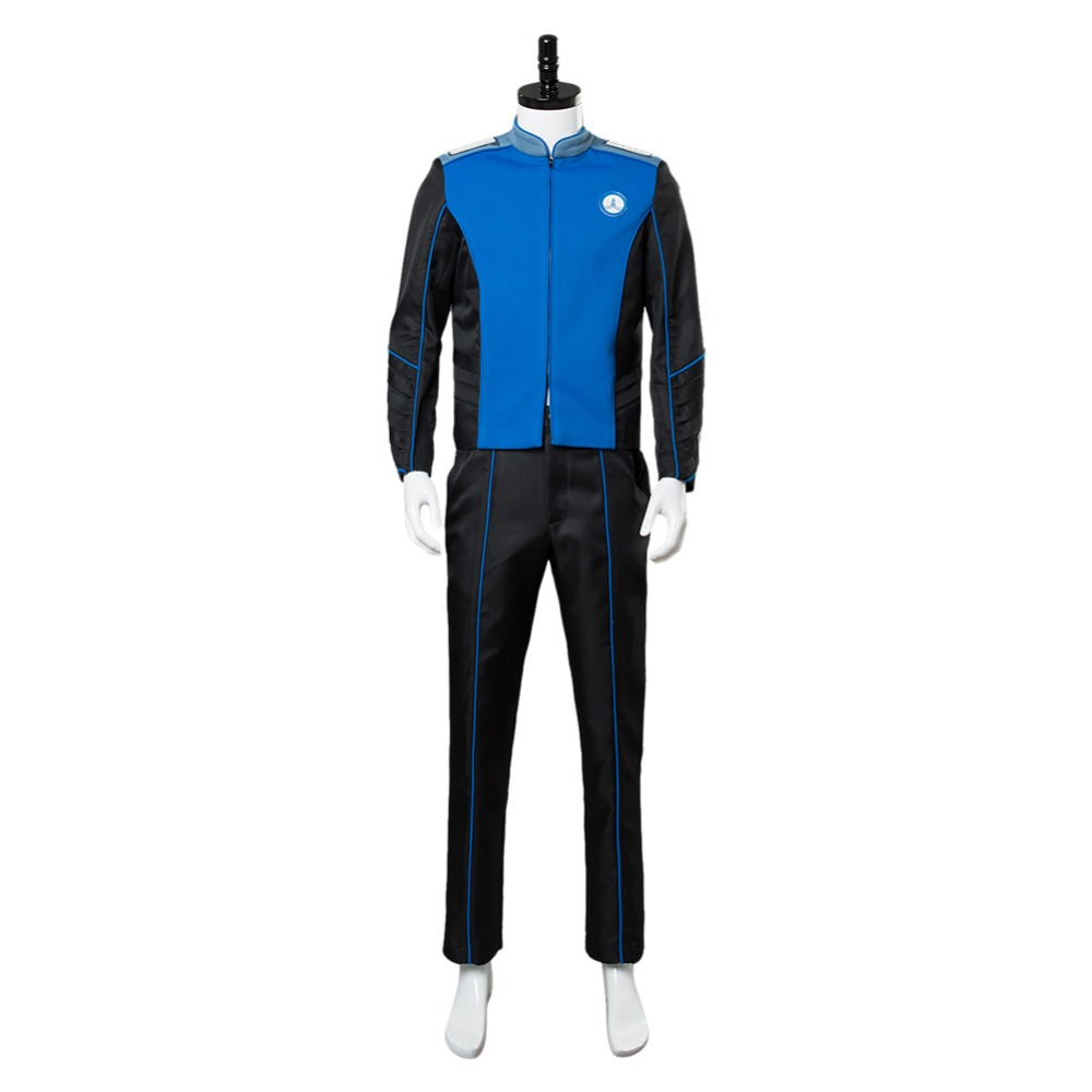 The Orville U.S.S Orville Ed Mercer captain Officer Uniform Cosplay Costume