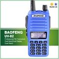 100% Original 5W Dual Display VHF UHF Radio Communicator UV-82 LED Flashlight Free Headset