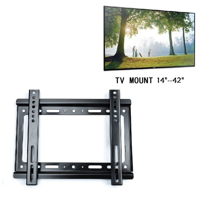 Universal Tv Wall Mount Bracket For Most 14 40 Hdtv Led Lcd Plasma