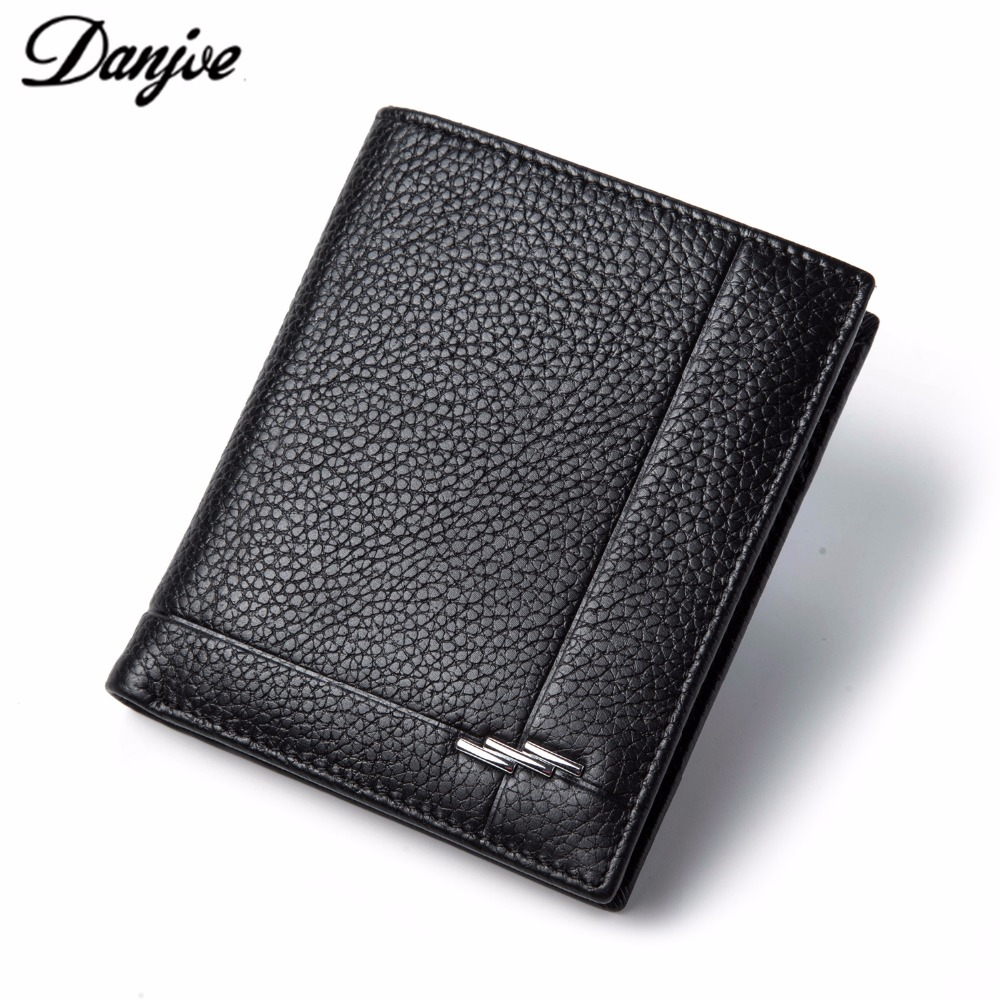 DANJUE first layer cowhide mens clutch bag casual wallet D8092-1-2