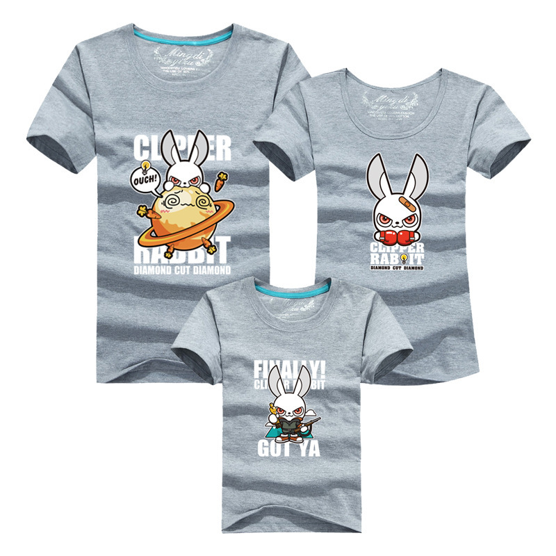 Family Look Cartoon T font b shirt b font font b Mens b font 2016 Harajuku