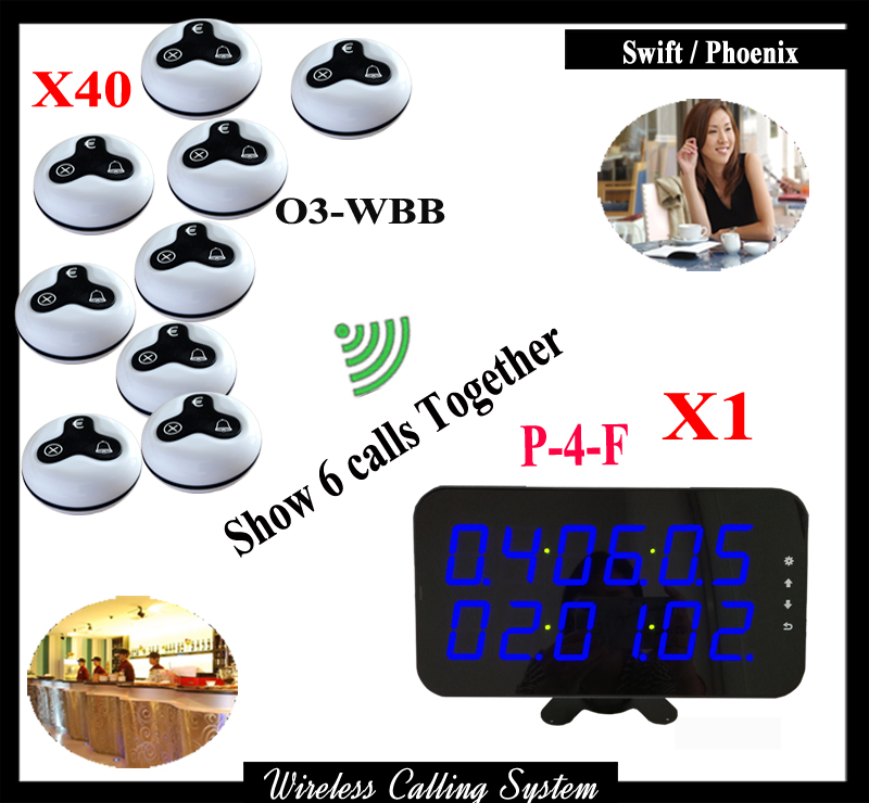 Wireless Calling Bell Pager Call Button Transmitter Calling System for Restaurant Pager System with Display 999ch restaurant pager wireless calling system 35pcs call transmitter button 4 watch receiver 433mhz catering equipment f3285c