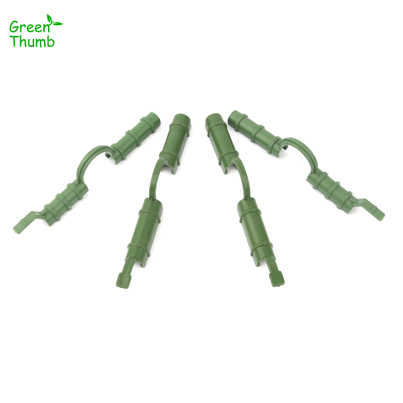 10pcs 8mm/10mm Greenhouse Film Buckles Sunshade Net Fixed Clamp Plastic Fastener Home Garden Accesseries