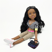 45cm Large Doll Calista fully Jointed Toy for Girls Gift