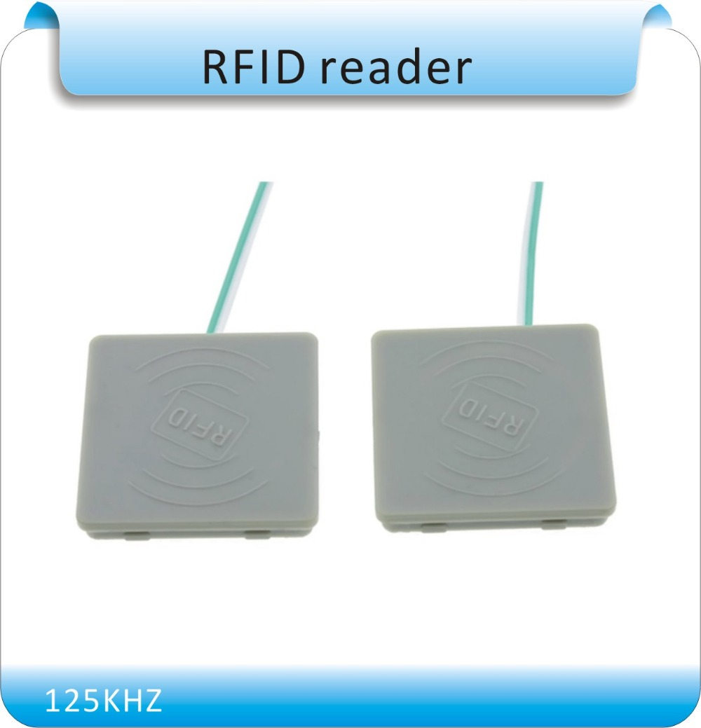 Free shipping 125k Waterproof glue/entrance guard card reader antenna coil / square Rf i ...