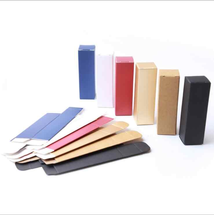 10 Pcs/lot 5G Lip Balm Kemasan Tabung Karton Kotak Lipstik Tabung Karton DIY Alat 25*25*85 MM PJ15