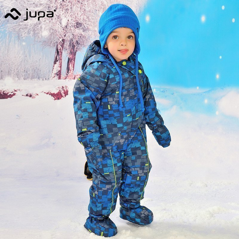 JUPA Newborn Baby boys Rompers Winter Thick Warm toddler Hooded Jumpsuit Kids Outwear boys feathers cotton Clothing suit 2017 new baby rompers winter thick warm baby girl boy clothing long sleeve hooded jumpsuit kids newborn outwear for 1 3t