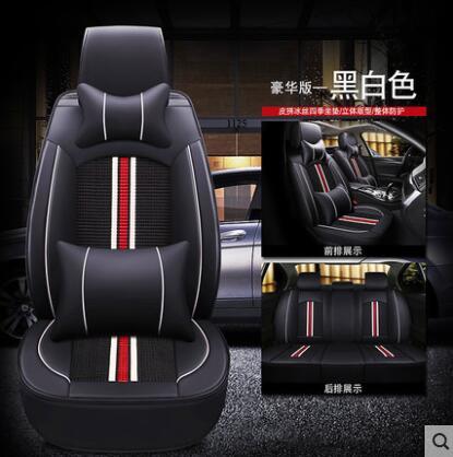 Nouveau siège de voiture universel en cuir PU de luxe couvre les housses de siège automobile pour BMW e30 e34 e36 e39 e46 e60 e90 f10 f30 x6 x3 x4