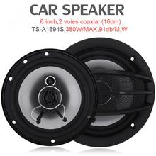 2pcs 6 Inch car speaker 380W auto car hifi coaxial speaker car Automotive sound music Full Range audio speakers hot selling 1 pair orange 6 5 inch 2 way coaxial car speaker tweeter host dropshipping car high power bass audio speaker set automotive auto