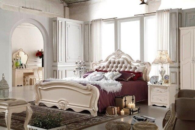 F81101 franse stijl bed moderne slaapkamer meubilair bed in f81101