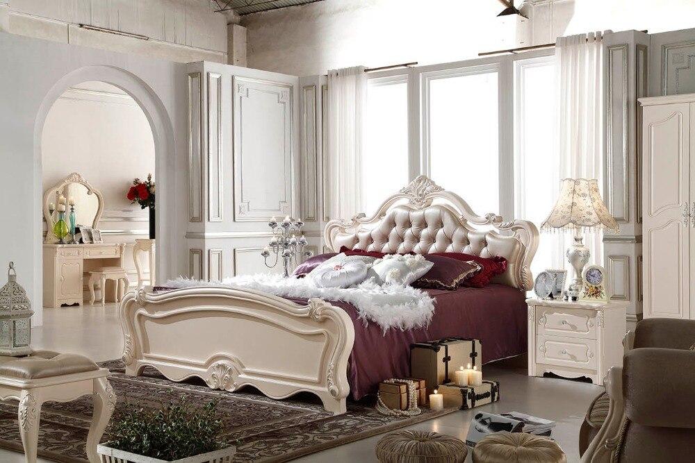 F81101 stile francese letto moderno camera da letto mobili letto in ...