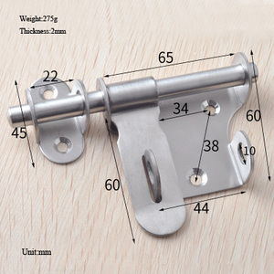 Sliding Bolt Lock Home Hardwar