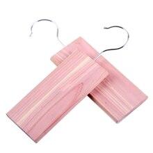 Подвесная тарелка из натурального кедра для гардероба моли плесени изоляция деревянная подвесная пластина