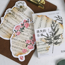 30 pcs/pack  Movement Greeting Card Postcard Birthday greeting card Letter Envelope Gift Card Set Message Card