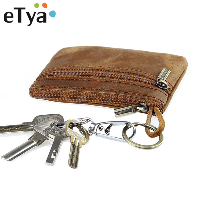 Genuine Leather Men Wallets Zipper Male Wallet Coin Purses Fashion Money Bags Key credit id card Holder Case Pouch Clutch Bags hot sale owl pattern wallet women zipper coin purse long wallets credit card holder money cash bag ladies purses