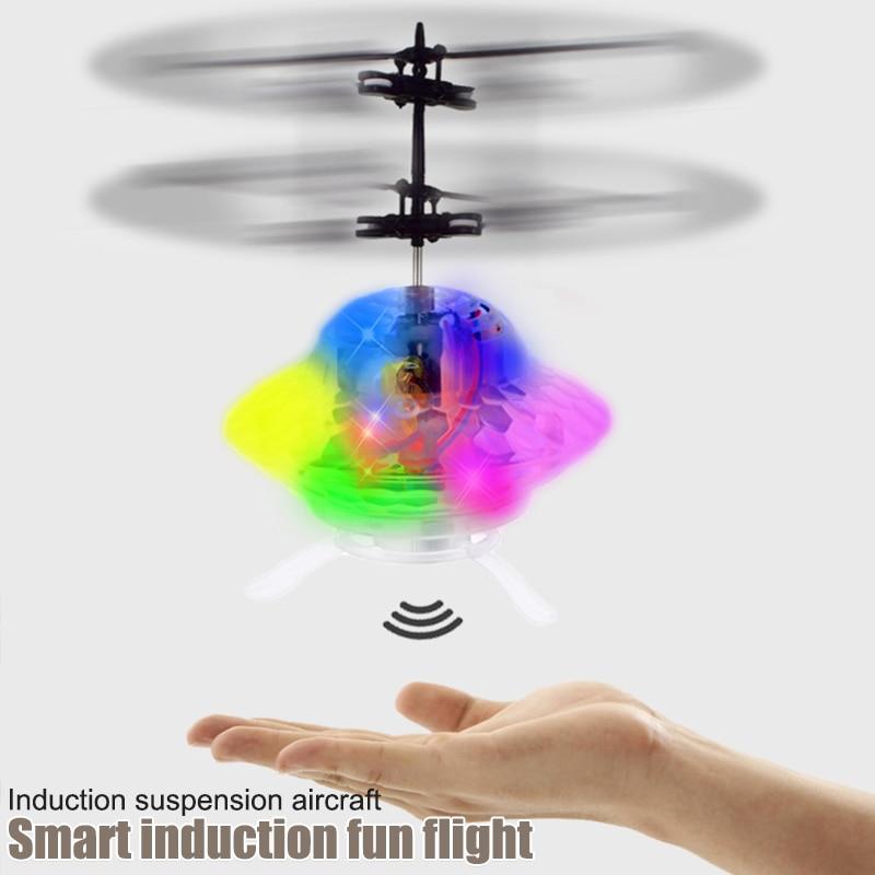 Вертолет авиационный самолет ABS плавающая сенсация автоматическая защита мини игра Электрический Дрон подвеска мяч игрушка