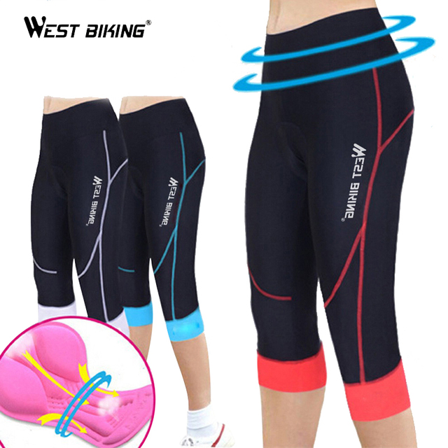 OESTE BIKE GEL 3D Acolchoado Elasticidade Quick Dry Esporte Wear Ciclismo Bicicleta Maillot Mulheres Mountain Bike Bicicleta Ciclismo Shorts