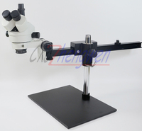 FYSCOPE  7X~45X Trinocular Guide Stereo Zoom Microscope PCB Inspection Microscope