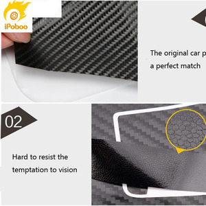 Image 4 - Car Styling  New Car Interior Center Console Color Change Carbon Fiber Molding Sticker Decals For Mazda 6 2006 2015