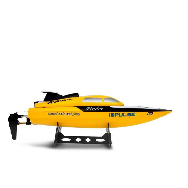 WL912 24 km/h RC bateaux 2.4G télécommande haute vitesse bateau de course RC RTF eau refroidissement bateau jouets