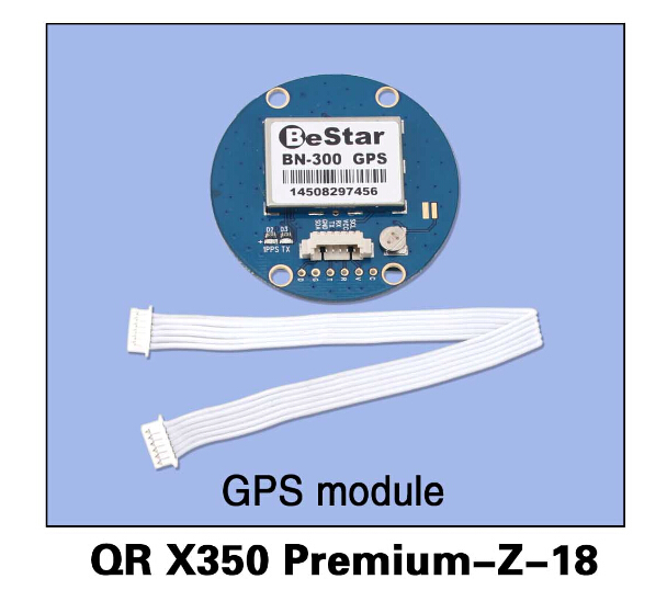 ФОТО F14444 QR X350 Premium-Z-18 GPS Module  for Walkera QR X350 Premium Helicopter
