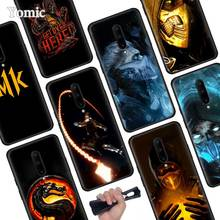 Mortal Kombat Black Soft Case for Oneplus 7 Pro 7 6T 6 Silicone TPU Phone Cases Cover Coque Shell
