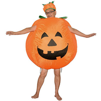 Halloween Pumpkin Inflatable Costume Party Cosplay Performance Inflatable Suit Funny Full Body Jumpsuit Fancy Party Supplies