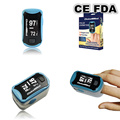 CE FDA TUV Approved ChoiceMMed Aqua Blue Pulse Oximeter Finger Tip Blood Oxygen SpO2 Monitor Free Shipping MD300C29