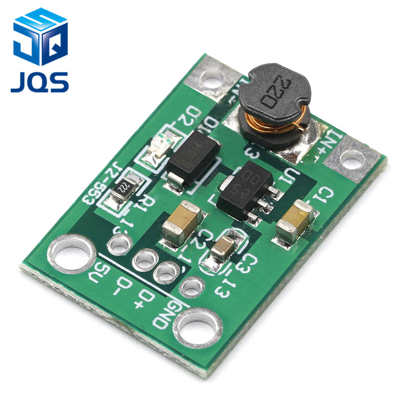 5PCS DC-DC Boost Converter Step Up Module 1-5V to 5V 500mA Power Module voltage converter5PCS DC-DC Boost Converter Step Up Module 1-5V to 5V 500mA Power Module voltage converter