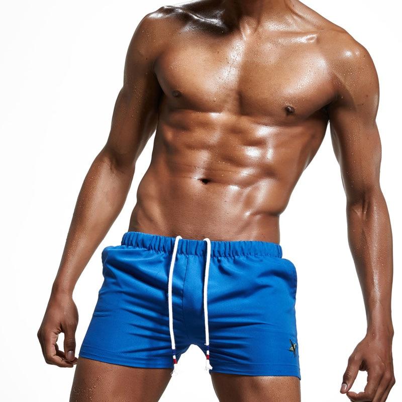 New Brand Superbody Men's swimwear   shorts   summer beach pants   Board     Shorts   Size M,L,XL,XXL ST170705