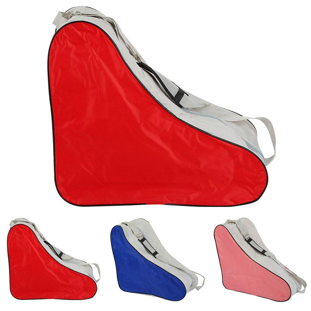 Triângulo ajustável portátil durável saco de patinação do rolo lidar com esporte cobre alça ombro universal carry caso parque ao ar livre