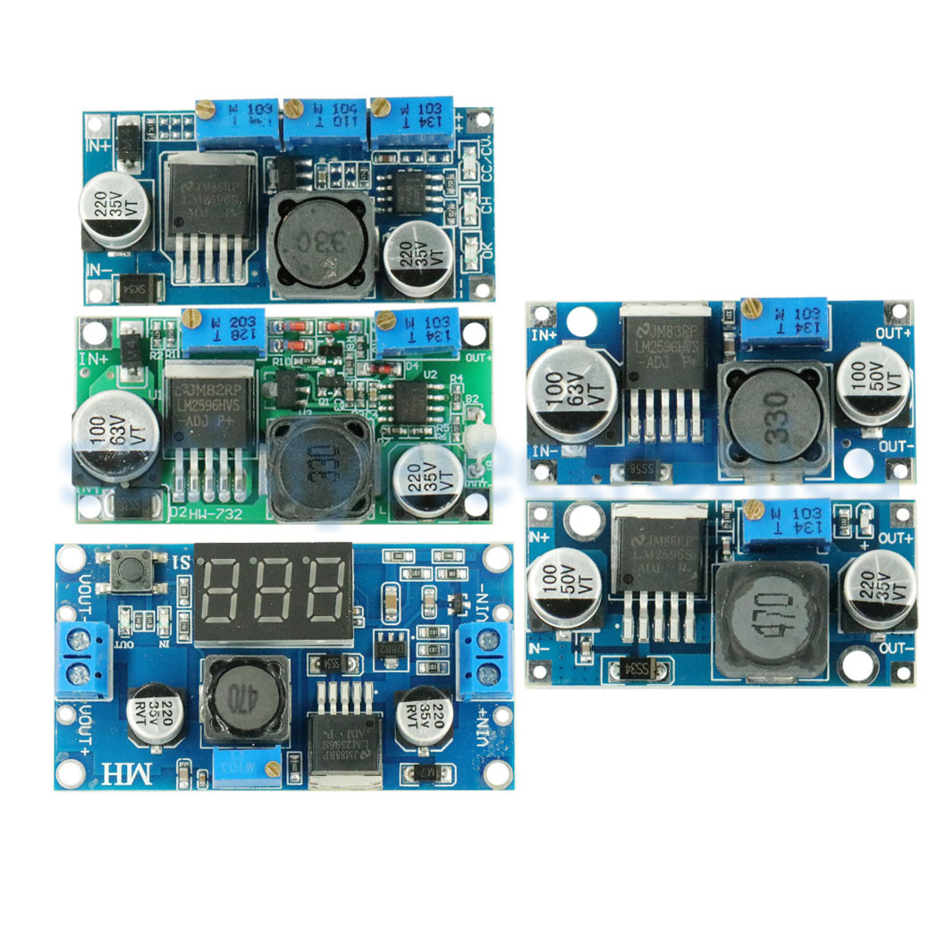NEW LM2596 LM2596S DC-DC 4.5-40V Adjustable Step-down Power Supply Module NEW ,High Quality