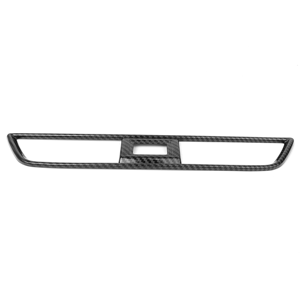 For Honda Accord 2018 Carbon Fiber Center Dashboard Air Vent Outlet Cover Trim