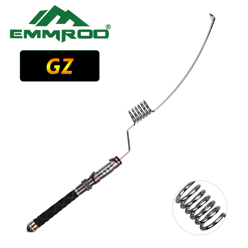 NEW EMMROD Spinning Rods Packer Rod Compact Fishing Pole Spin Rod Stainless Portable Fishing Pole Boat/Raft Rod Rock Rod GZ