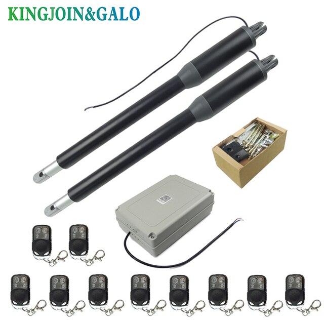 משלוח חינם מים הוכחה אוטומטי Swing שער פותחן C05 חשמלי מפעיל ליניארי כפול זרועות נדנדה שער מנוע קיט